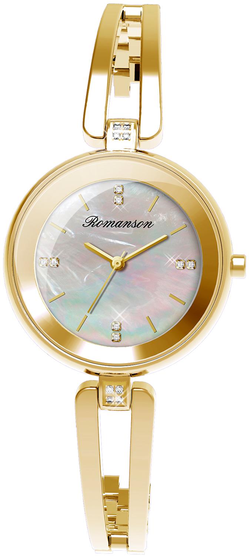 Женские часы Romanson RM9A06QLG(WH) женские часы romanson rm9a06qlg wh