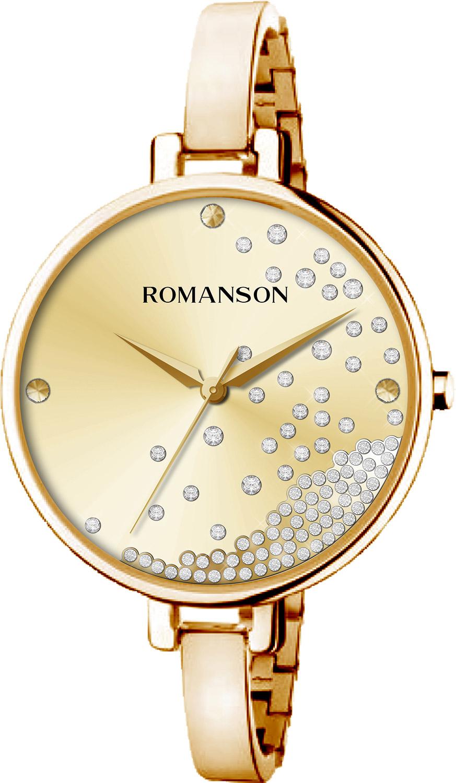 Женские часы Romanson RM9A07LLG(GD) женские часы romanson rm9a23llg gd