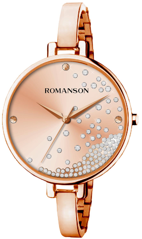 Женские часы Romanson RM9A07LLR(RG) цены онлайн