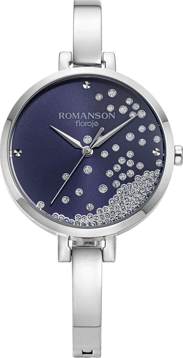 лучшая цена Женские часы Romanson RM9A07LLW(BU)