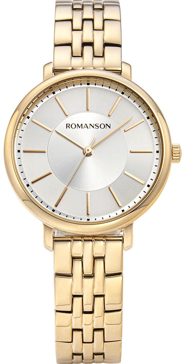 Женские часы Romanson RM9A15LLG(WH)