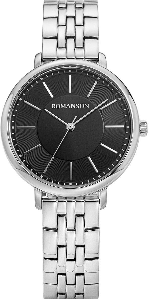 Женские часы Romanson RM9A15LLW(BK)