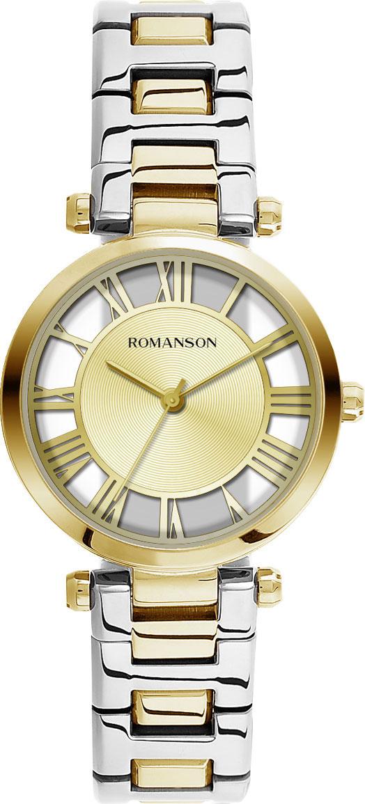 Женские часы Romanson RM9A17LLG(GD)