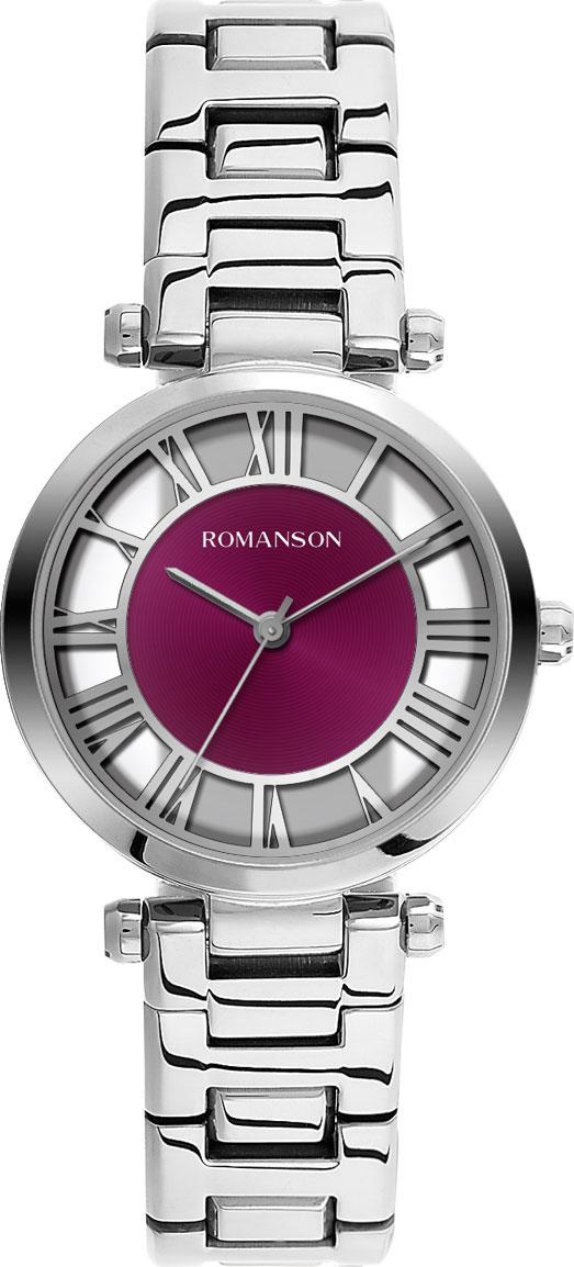 Женские часы Romanson RM9A17LLW(WINE) женские часы romanson rm6a05llw wine