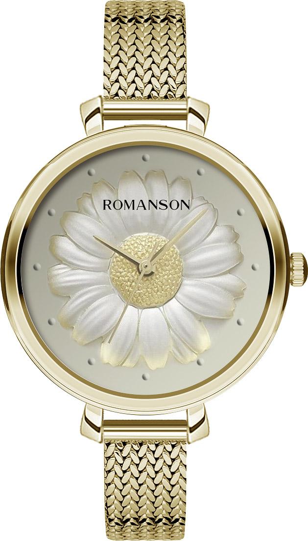 Женские часы Romanson RM9A23LLG(GD) женские часы romanson rm9a23llg gd