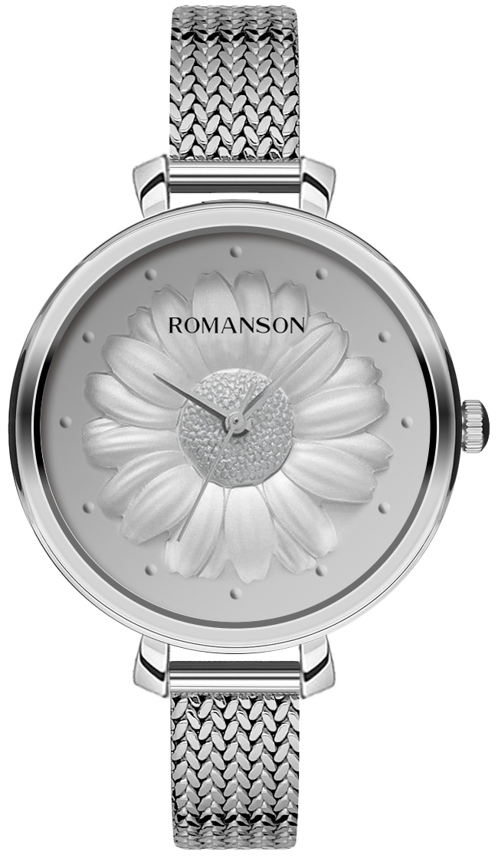 лучшая цена Женские часы Romanson RM9A23LLW(WH)