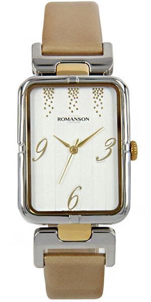 Женские часы Romanson RN0356LC(WH) romanson tm 9248 mj wh