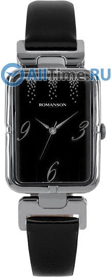 Женские часы Romanson RN0356LW(BK) romanson rn 3215 lw wh nv