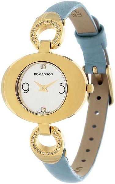 Женские часы Romanson RN0391CLG(WH) romanson rn 3215 lw wh nv