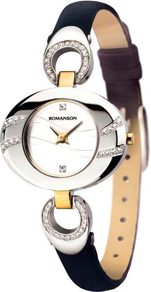 Женские часы Romanson RN0391QLC(WH) romanson rn 3215 lw wh nv