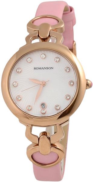 Фото - Женские часы Romanson RN2622LR(WH)PK romanson rl 4203q lw wh pk