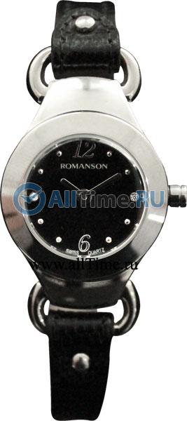 Женские часы Romanson RN2633LW(BK)BK romanson rn 3215 lw wh nv