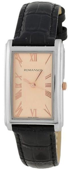 Мужские часы Romanson TL0110SMJ(RG) romanson tl0110smj wh romanson