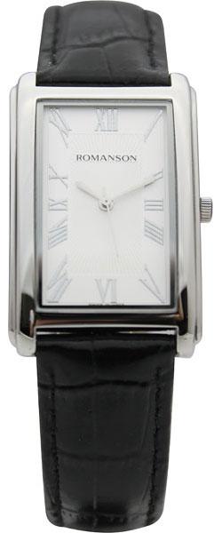 Мужские часы Romanson TL0110SMW(WH) romanson часы romanson tm7237mj wh коллекция adel