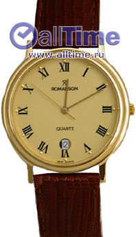 Мужские часы Romanson TL0162SMG(GD) магазины где фото обои
