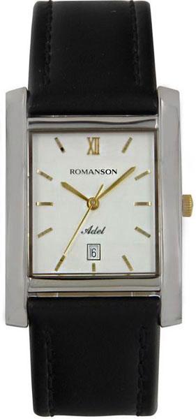 Мужские часы Romanson TL0226SXC(WH) romanson часы romanson tm7266mj wh коллекция adel