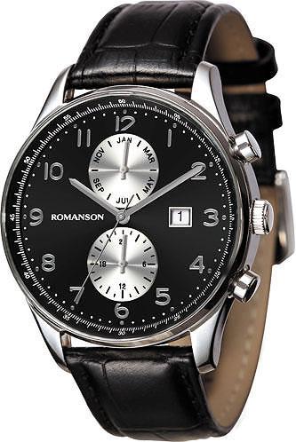 Мужские наручные часы Romanson TL0329BMW(BK)