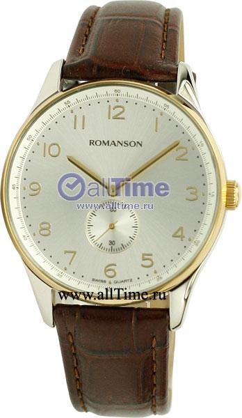 Мужские часы Romanson TL0329MC(WH) romanson tl 0329 mw wh