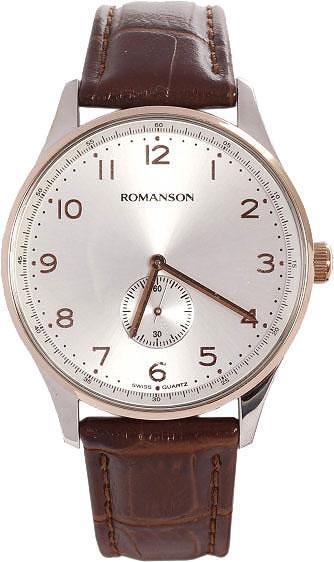 Мужские часы Romanson TL0329MJ(WH) romanson tm 9248 mj wh