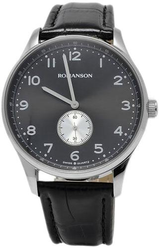 Мужские часы Romanson TL0329MW(BK) romanson tl 0329 mw wh