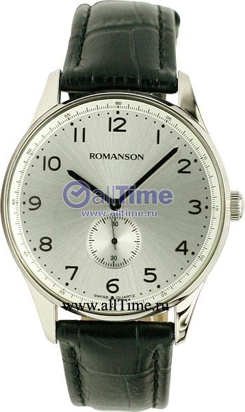 Мужские часы Romanson TL0329MW(WH) romanson tl 9225 mw wh