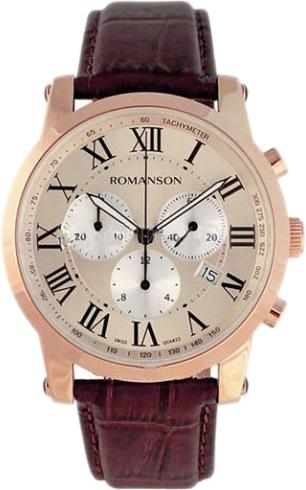 Мужские часы Romanson TL0334HMR(RG)RIM цена