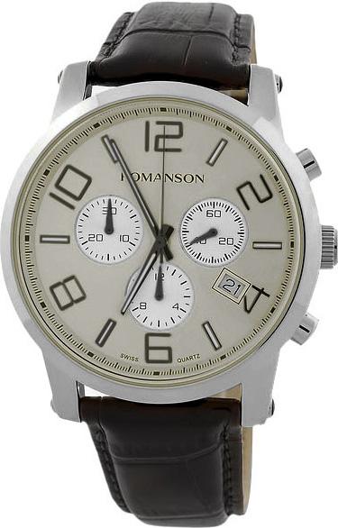 Мужские часы Romanson TL0334HMW(GR) цена