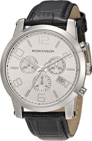 лучшая цена Мужские часы Romanson TL0334HMW(WH)