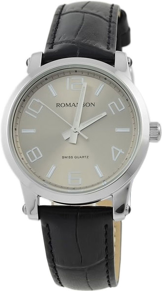 Женские часы Romanson TL0334LW(GR) romanson rm 6a31c lw wh