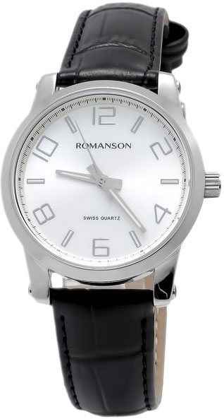 Женские часы Romanson TL0334LW(WH) romanson rm 6a31c lw wh