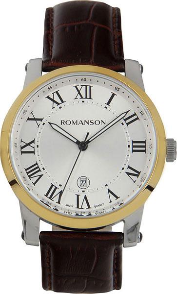 Мужские часы Romanson TL0334MC(WH) romanson tl 0334 mc wh