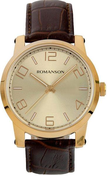 Мужские часы Romanson TL0334MG(GD) romanson rm 9207q lj gd