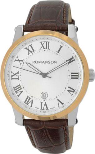 Мужские часы Romanson TL0334MJ(WH)RIM romanson tl 9214 mj wh