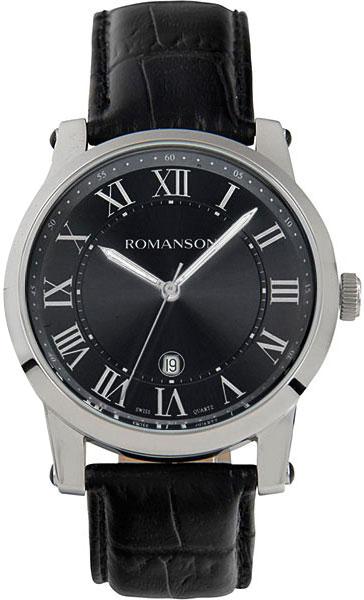 Мужские часы Romanson TL0334MW(BK)RIM