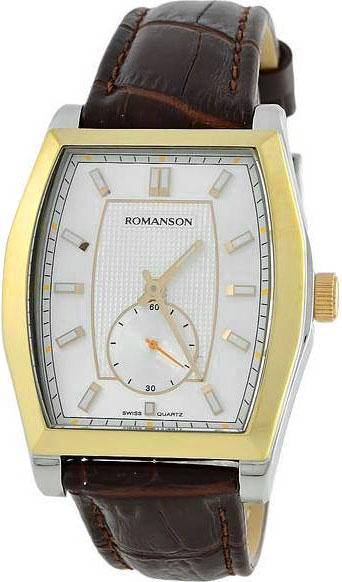 Мужские часы Romanson TL0336MC(WH) romanson tl 0336 mw wh
