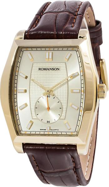 Мужские часы Romanson TL0336MG(GD)BN romanson rm 9207q lj gd