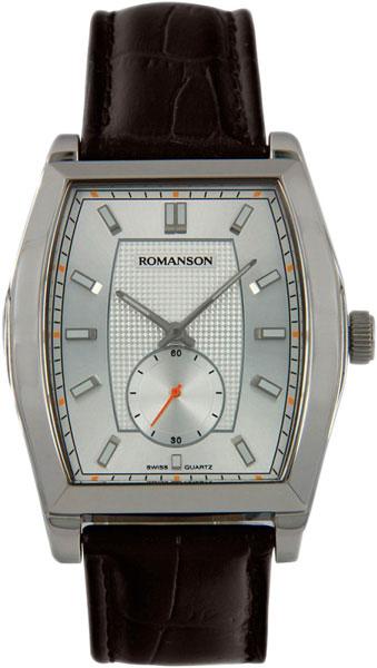 Мужские часы Romanson TL0336MW(WH) romanson tl 0336 mw wh