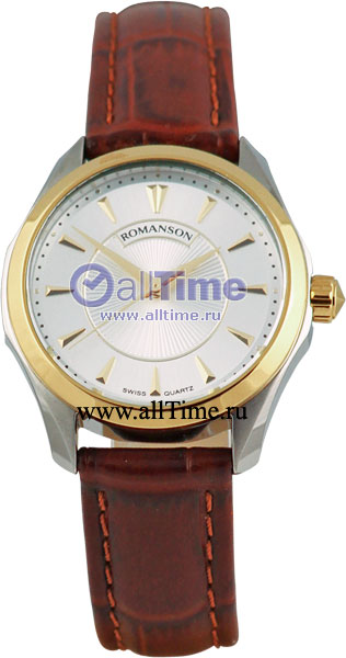 Женские часы Romanson TL0337LC(WH) romanson tm 9248 mj wh