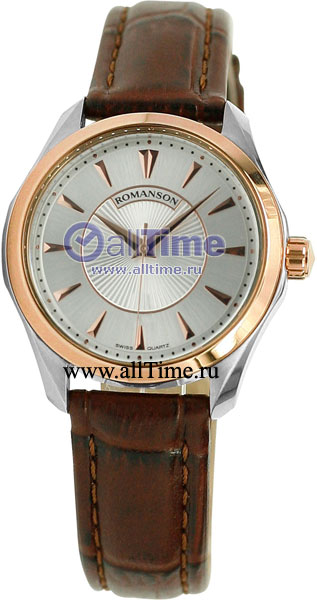 Женские часы Romanson TL0337LJ(WH) romanson tl 1213s lj wh