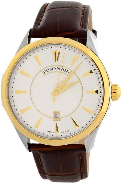 Мужские часы Romanson TL0337MC(WH) romanson tm 0337 mj wh
