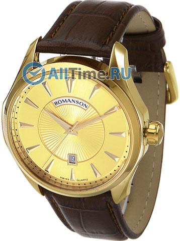 Мужские часы Romanson TL0337MG(GD) romanson rm 9207q lj gd
