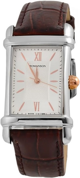 Мужские часы Romanson TL0338MJ(WH) romanson tm 9248 mj wh