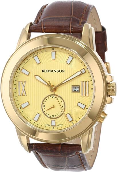 Мужские часы Romanson TL0381MG(GD) romanson rm 9207q lj gd