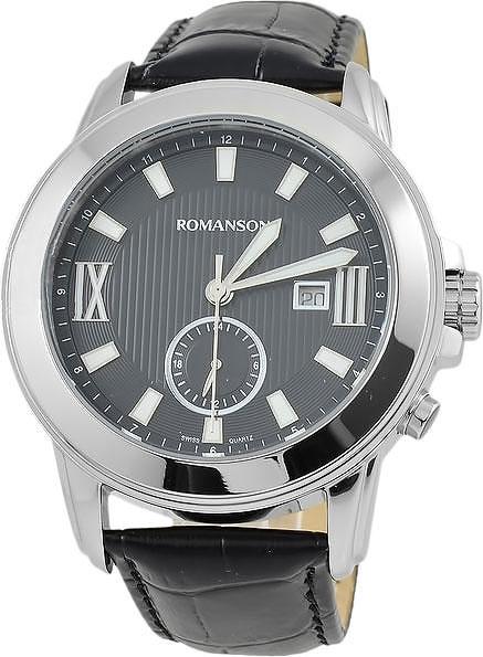 Мужские часы Romanson TL0381MW(BK)