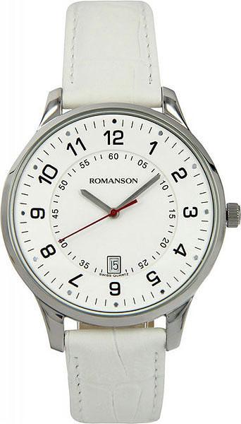 Мужские часы Romanson TL0386MW(WH) romanson tl 9225 mw wh