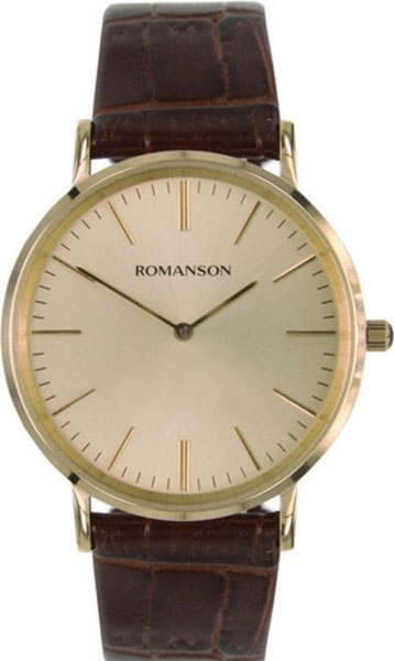 Мужские часы Romanson TL0387MG(GD) наручные часы romanson tl0387mg gd