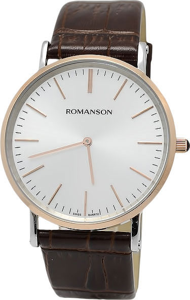 Мужские часы Romanson TL0387MJ(WH) romanson tm 9248 mj wh