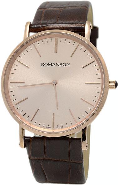 Мужские часы Romanson TL0387MR(RG) romanson tl 4118j mj rg