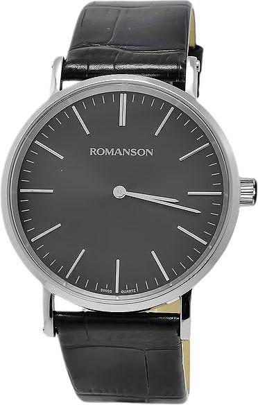 цена на Мужские часы Romanson TL0387MW(BK)