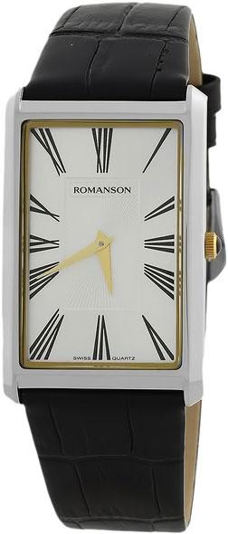 Мужские часы Romanson TL0390MC(WH) romanson часы romanson tm7266mj wh коллекция adel